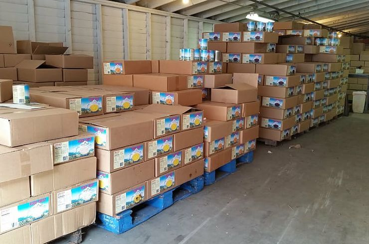 warehouse-pallet-food-product