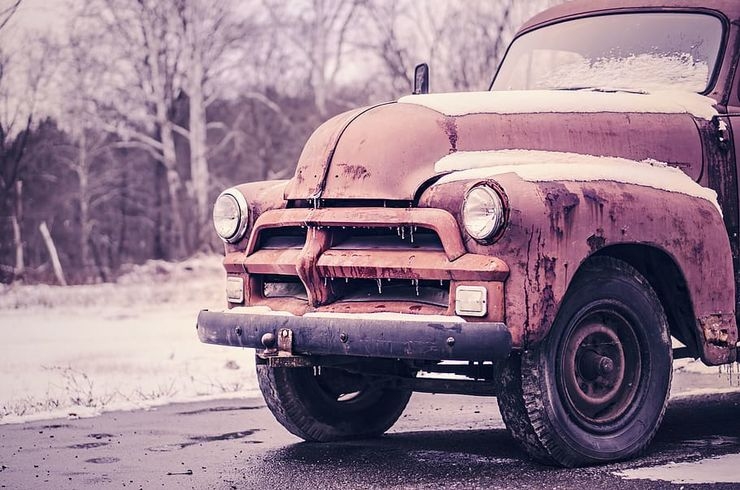 car-classic-frozen-ice
